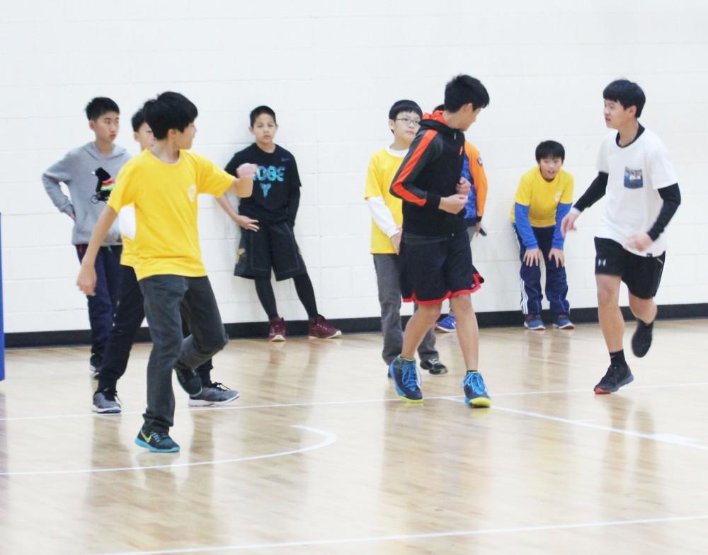 籃球營活動照片
