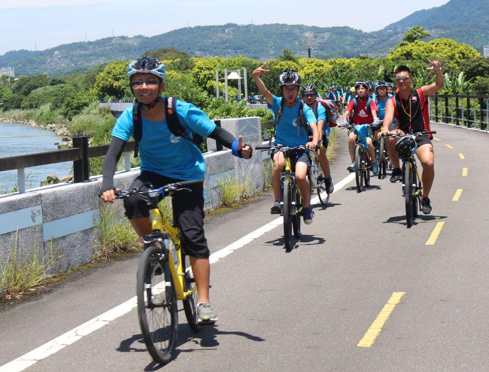 單車夏令營-關渡自行車道