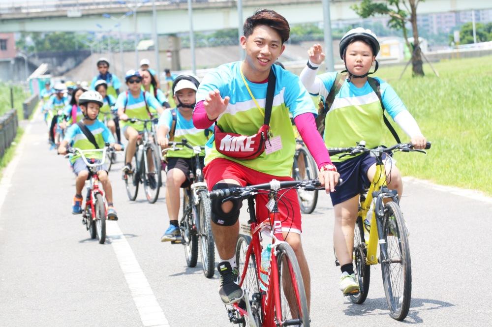 單車夏令營-河濱自行車道
