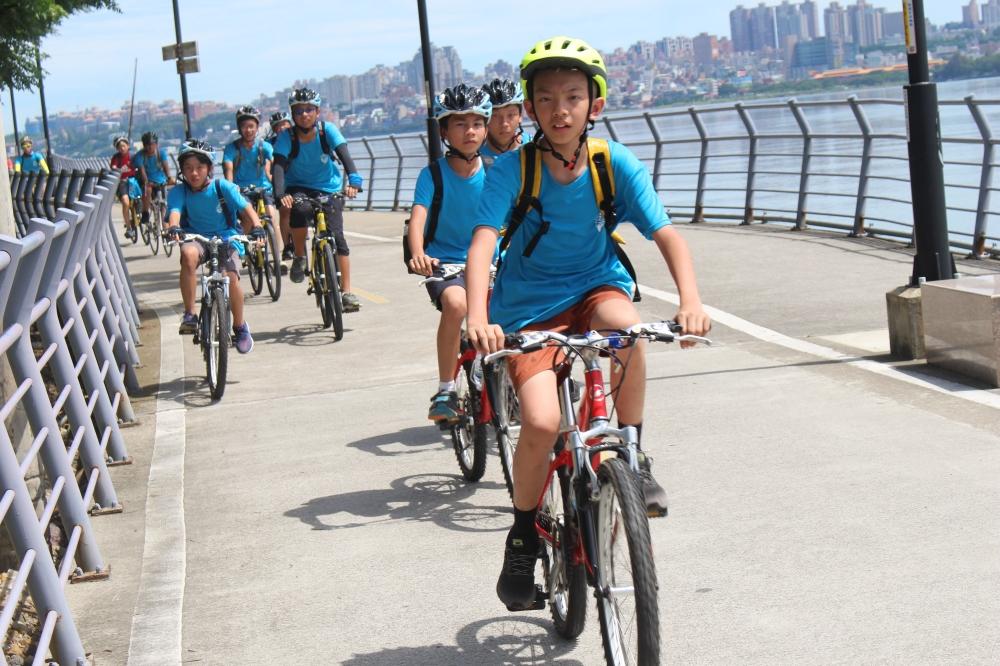 單車夏令營-八里自行車道