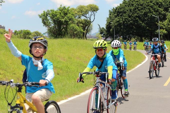 單車夏令營-台北河濱自行車道